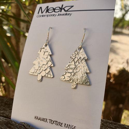 Xmas Tree Drop Earrings