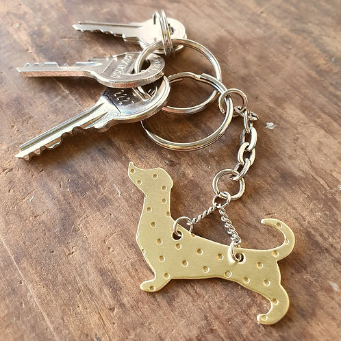 Dachshund Full Body Key Chain