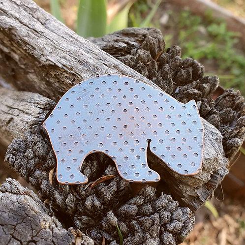 Australiana - Wombat Brooch