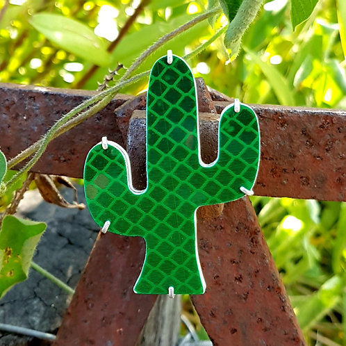 CACTUS MAGNETIC BROOCH