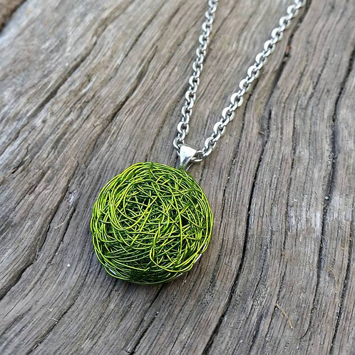 RECYCLED WIRE FLAT NECKLACES