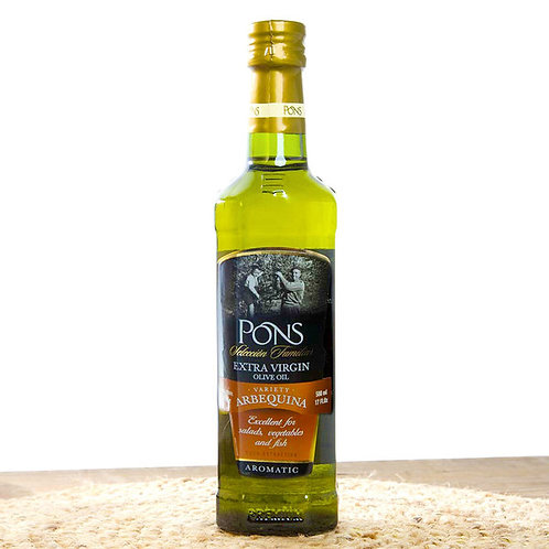 Arbequina Extra Virgin Olive Oil by Pons - 500ml