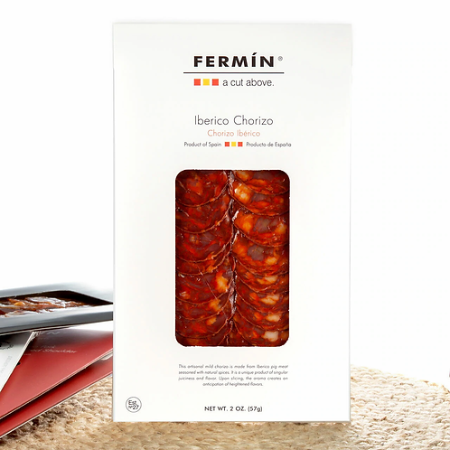Chorizo Ibérico in Slices by Fermín - 2 oz