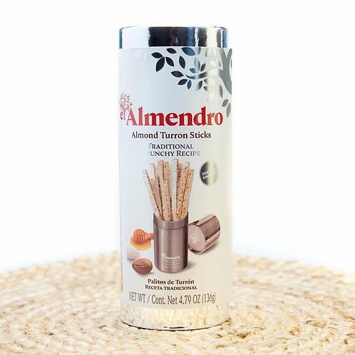 Almond Turron Sticks in Gift Presentation by El Almendro
