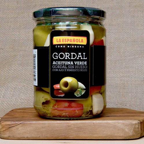Aceituna Verde La Española - Seasoned Spanish Queen Olives 15.6 oz