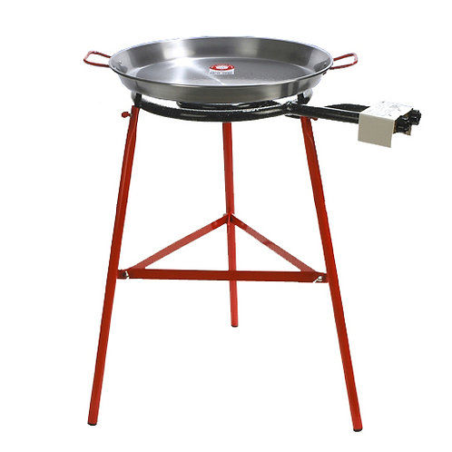 Paella Set with Stand and Pan for 14 Serv.