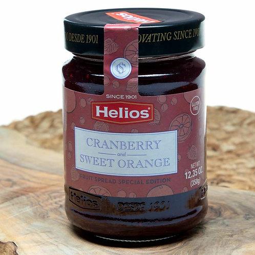 Helio Fruit Spread Special Edition Cranberry 12.3 oz