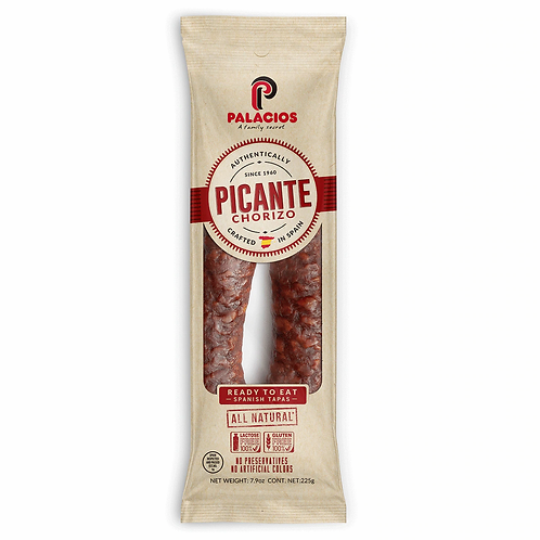Palacios Chorizo Hot Dry-Cured from Spain.