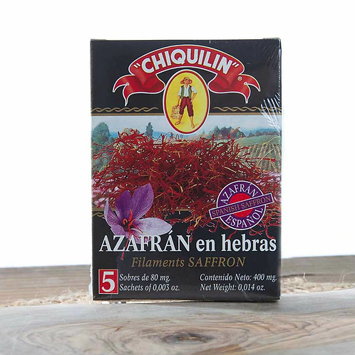Spanish Saffron Filaments by Chiquilin
