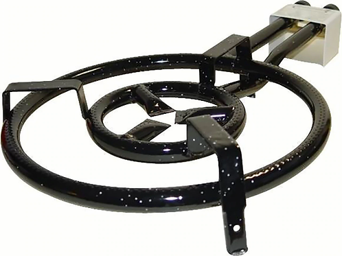 Garcima Two-Ring Gas Burner for Paella - 16 in.