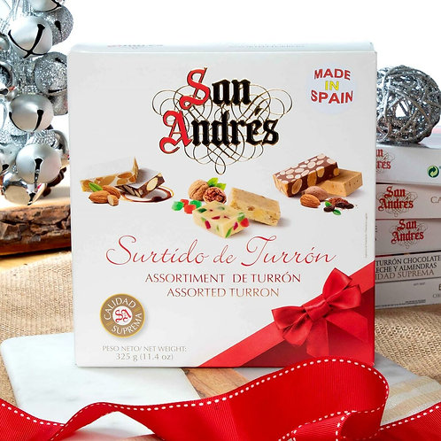 Assorted Turron box by San Andres