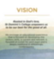 VISION, MISSION, VALUES | Welkom | St. Dominic's College Welkom