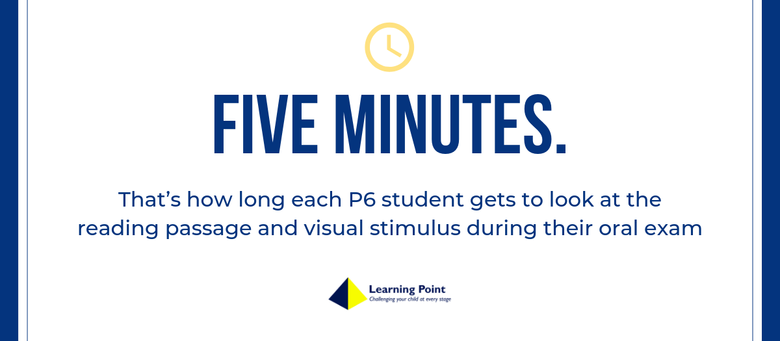 PSLE Tips: Maximising your five minute preparation time during the PSLE Oral Examination
