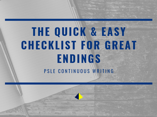 The Quick & Easy Checklist for Great Endings [Primary School]