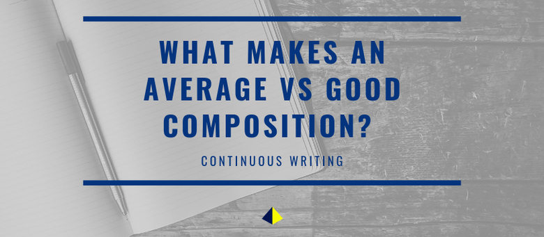 What Makes an Average vs Good Composition? (Primary English)