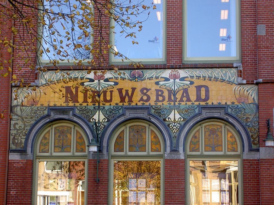 foto bij stadswandeling Art Nouveau