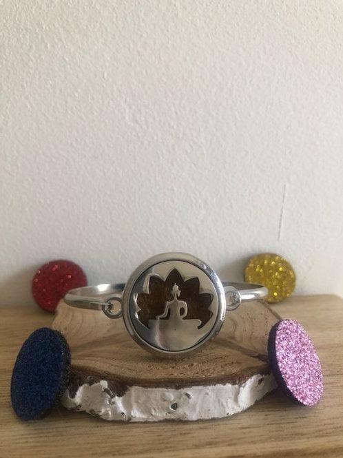 Bracelet diffuseur d'huile essentielle bouddha