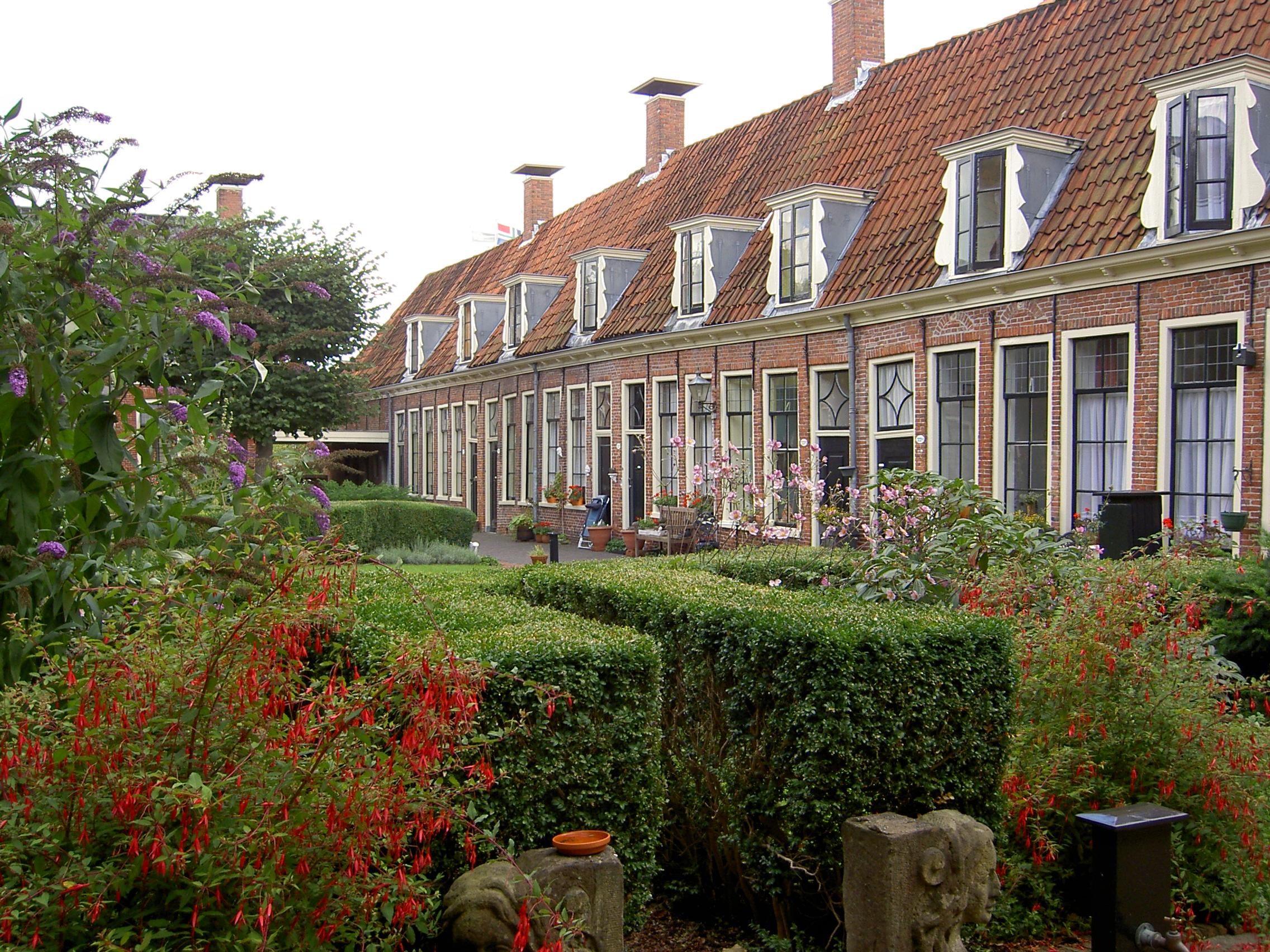 pepergasthuis met prachtige tuin
