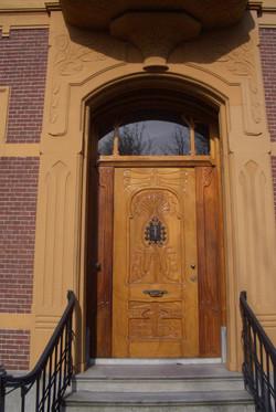 Art Nouveau deur Grietje