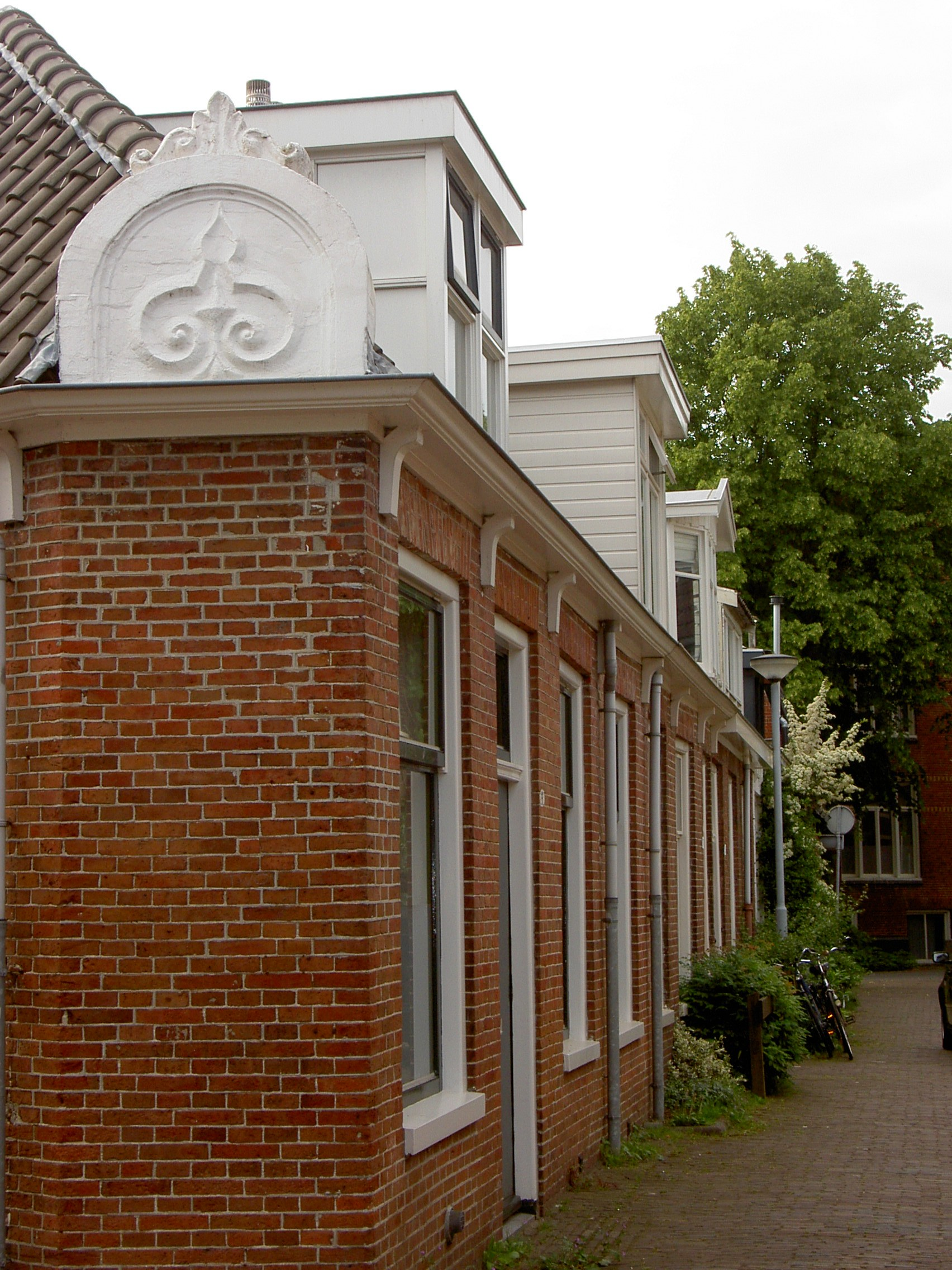 eerste sociale woningbouw