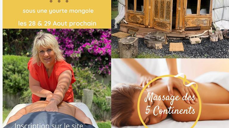 Formation Praticien Massage 5 Continents