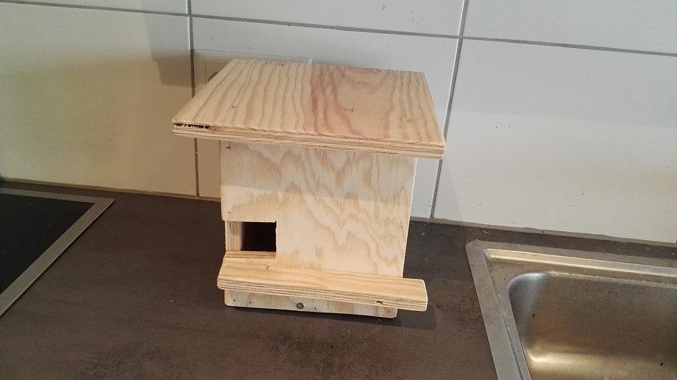 Nichoir pour oiseaux, en bois