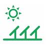 halls reduced carbon footprint logo