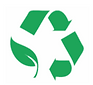 halls waste reduction logo