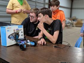 Robotics at Summer Camp? Yeah! You heard me!