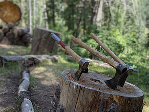 Mountain Man Tomahawks- The ultimate camping experience!
