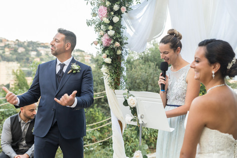 French Riviera Weddings - Officiante de