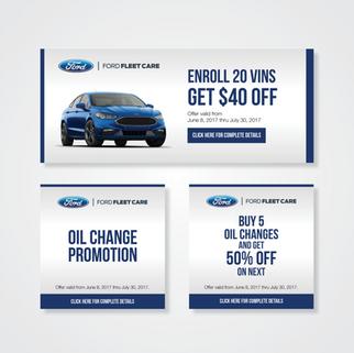 Ford Fleet Care Digital Advertisments