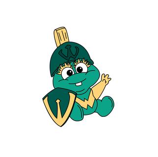 Baby W Mascot Illustration