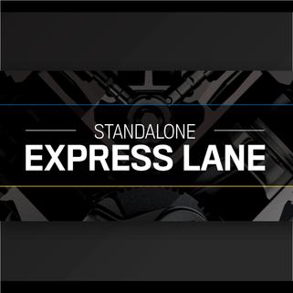 Standalone Express Lane Digital Banner