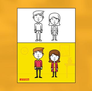 Pirelli Illustrations