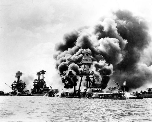 Three battleships hit.jpg