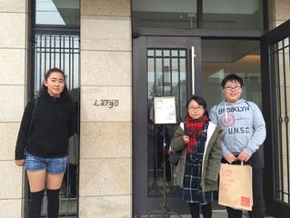 生徒達と牧子先生のコンサートに行って参りました。