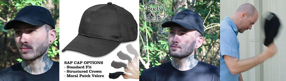 Tactical Ball Cap   Sap Cap   Slap Cap   Blackjack Ballcap