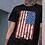 "Thumbnail: Men's Soft Ringspun Cotton ""American Flag"" Tee"