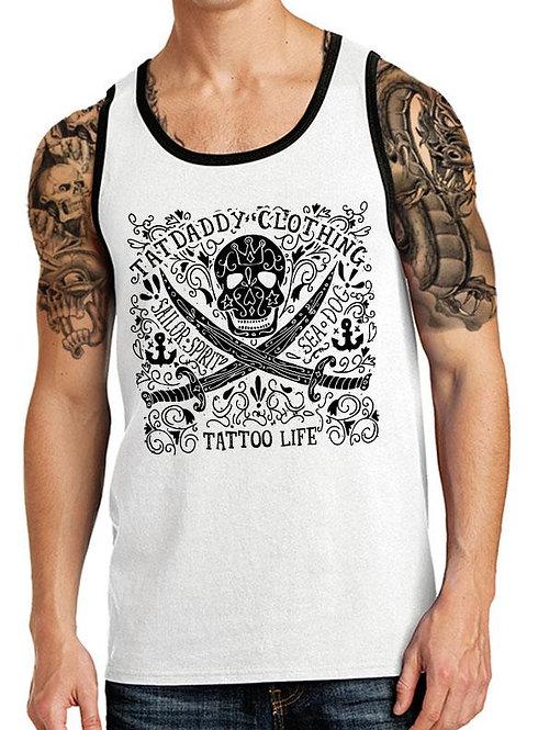 """Tank """"Tattoo Life"""" Top - Quality Men's Wear"""