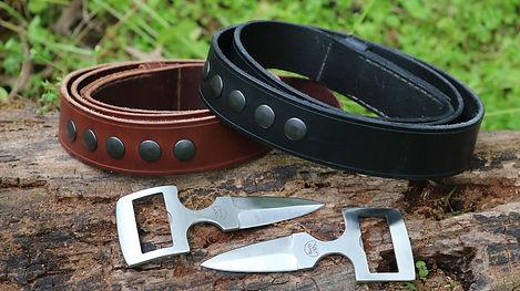 Belt Buckle Knife