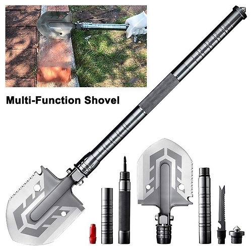 Survival Shovel - Outdoor Multi-Purpose Camping Shovel