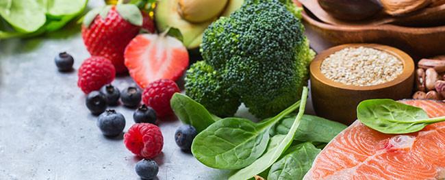 Fresas, Zarzamora, brócoli, verduras
