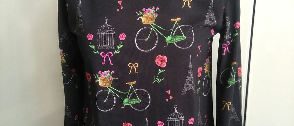 Tričko se stojáčkem V Paříži