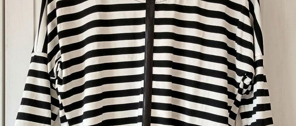 Tričko Proužky s černou stuhou