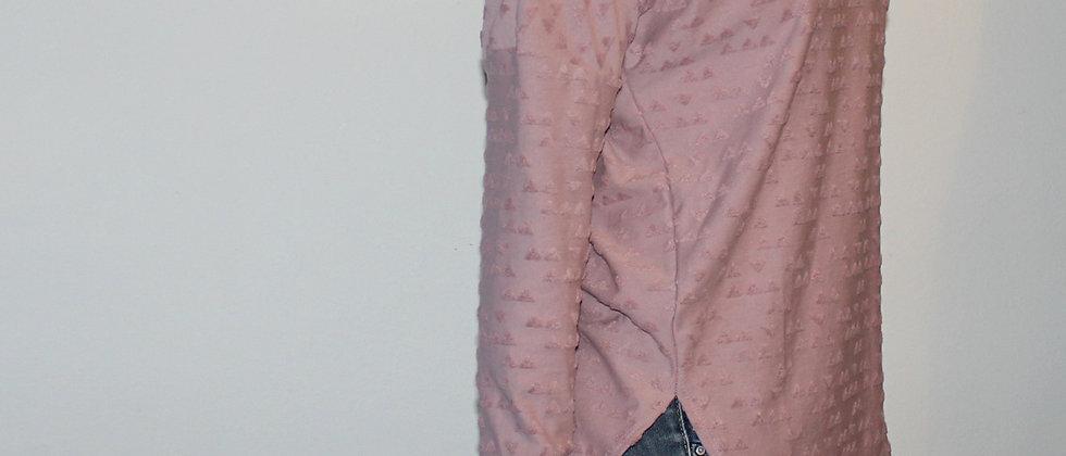 Tričko růžová něha