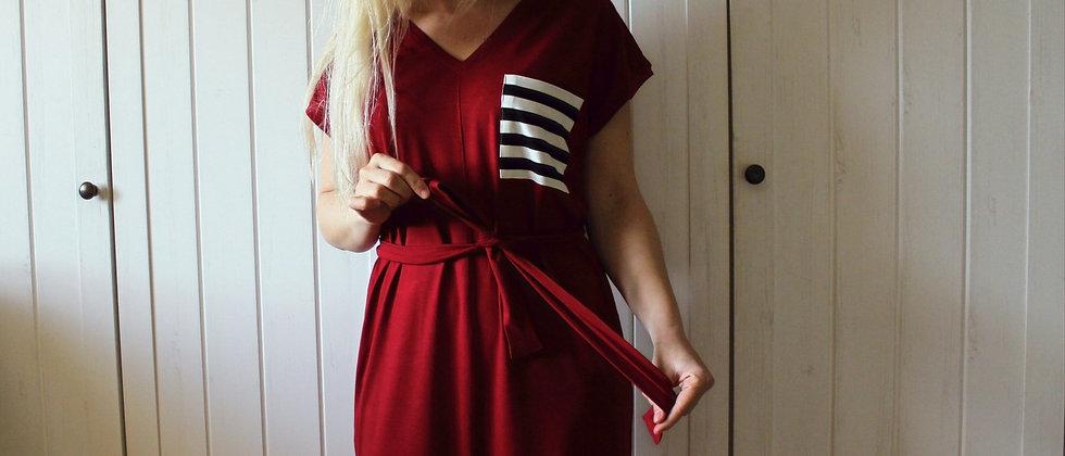 Úpletové šaty Red