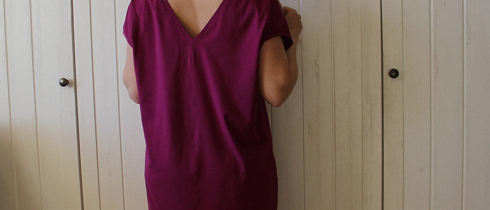 Úpletové šaty Fuchsie