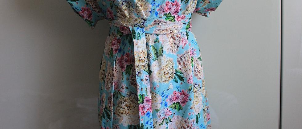 Úpletové šaty Pivoňky