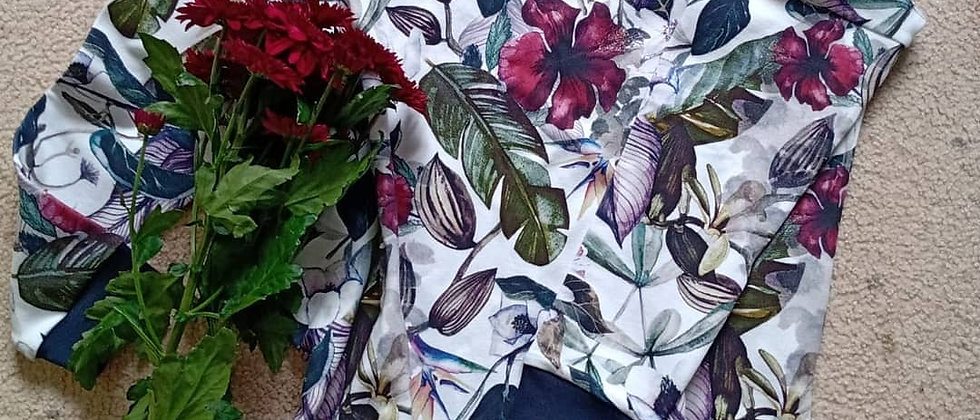 Mikina Rajské květy